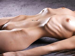 Perfect body skinny girl