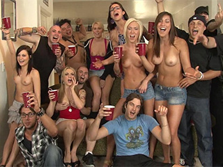 Drunk sex party babes